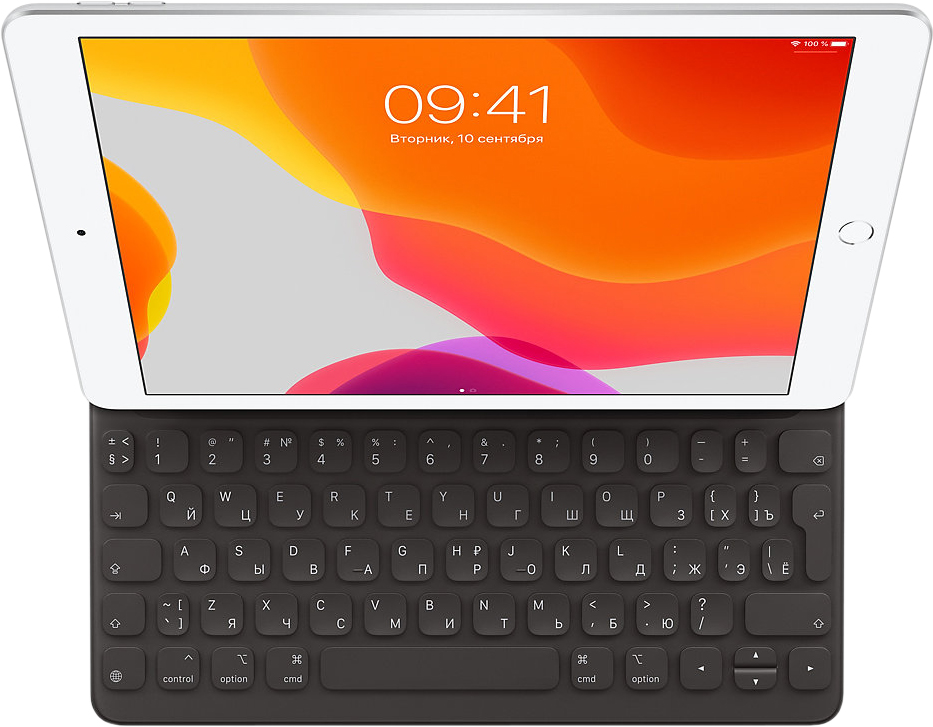 Чехол-клавиатура Apple Smart Keyboard iPad (7th gen) и iPad Air (3rd gen) 10.2-10.5 MX3L2RS/A